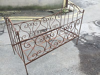 Wrought Iron Victorian Cot