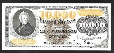 Proof Print by the BEP - Face of  1878 $10,000 U.S.Note
