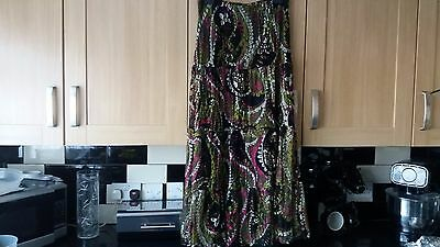 Michele Hope Lace Maxi Skirt 14-16 Fit 18 Too