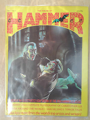 House Of Hammer Magazine #1 _ Vf/nm Condition _ 1976