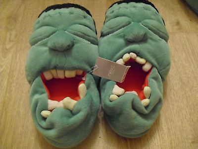 Bnwt Childrens Next Incredible Hulk Slippers Size 12