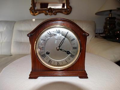 Smiths English Made Chiming Mantle Clock,good Working Order,good Quality.