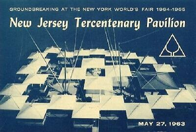 1964 NYWF New Jersey Tercentenary Pavilion Groundbreaking Booklet