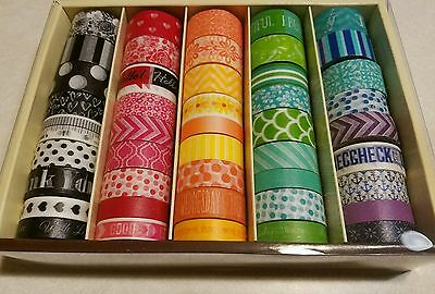 Reflections Washi Tape Planner Craft Supplies 45 rolls