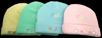 Baby Infant Beanies Winter Caps Hats 1Pc or 6Pc Lot  (Wck7091**)