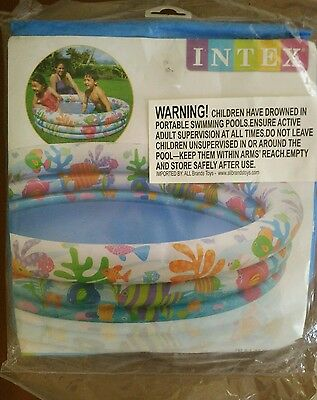 """Intex baby Inflatable pool 3 ring 52"""" x 11"""""""