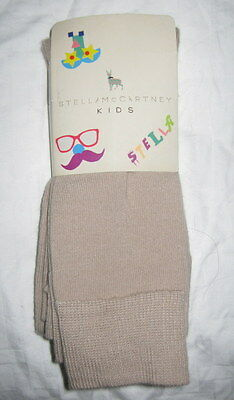 Stella McCartney Beige Footless Tights  size (5 years) BNWT