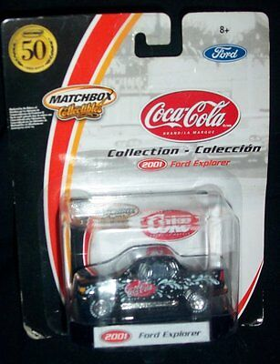 Matchbox Collectibles Coca-Cola 2001 Ford Explorer 1:64 Scale Diecast