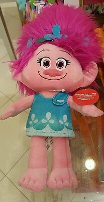 DreamWorks  TROLLS PLUSH POPPY DOLL MACY'S THANKSGIVING DAY PARADE 90 YEARS