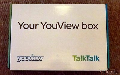 Huawei Talk Talk Youview Box Dn360T Freeview Receiver With Catch Up Tv - Bnib