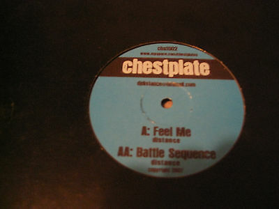 Distance* ‎– Feel Me / Battle Sequence (Chestplate ‎– chst002)