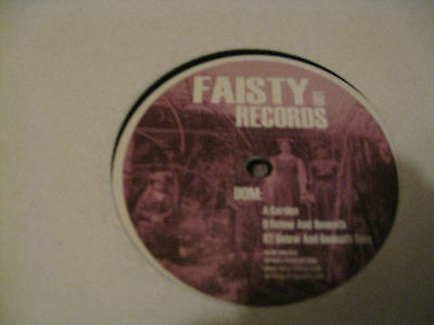Dom ‎– Garden (Faisty Records ‎– FAISTY 001)