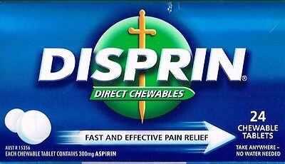 = Price Smash Disprin Direct Chewable 300Mg Aspirin 24  Chewable Tablets