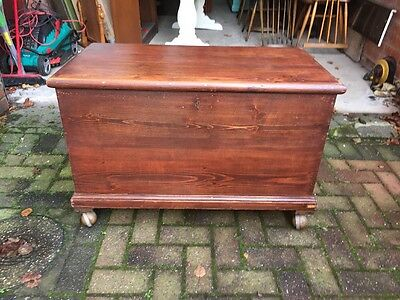 beautiful large Chest \ bedding box With Key