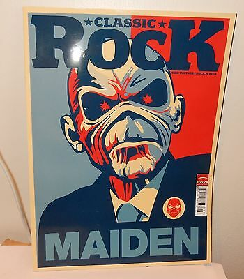 Classic Rock July 2011 Iron Maiden Cover