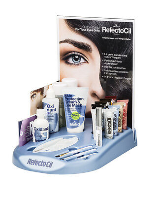 Refectocil Station Kit Colours All In Complete Tint Eyelashes Eyebrows