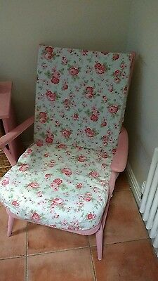 Shabby chic ercol chair