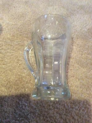 Coca-Cola Clear Glass Mug With Handle