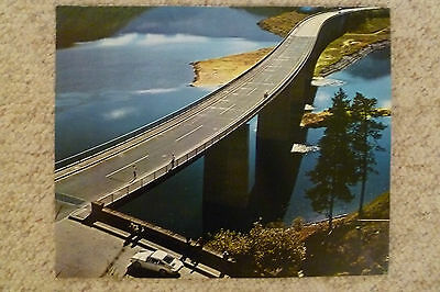 1971 Porsche 911 Coupe Showroom Advertising Sales Poster RARE!! Awesome L@@K
