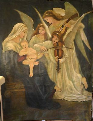 """WHAT CHILD IS THIS Canvas S/N Print by Artist Corinne Layton 24"""" x 36""""A/P 2/100"""