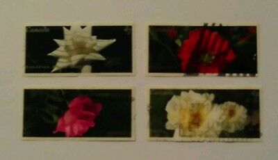 Canada 2001 roses s/a used set