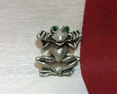 Frog Necklace Charm