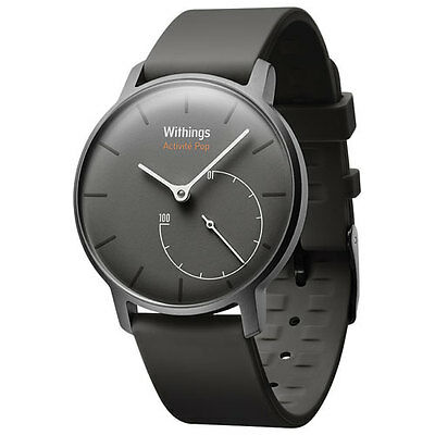 Withings Activité Pop HWA01 Shark Grey Activity Tracker Watch Orologio Nero