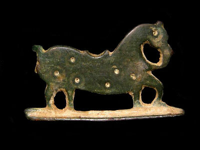 Extremely Rare Roman Bronze Fire Starter In Shape Of A Horse+++