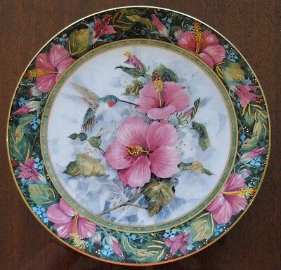 The Imperial Hummingbird Franklin Mint Collector Plate