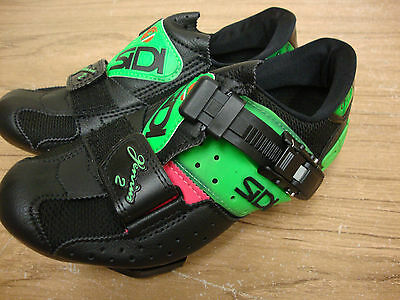 Sidi Genius 2 Road Cycling Shoes Size US 3.5 EU 36 Made in Italy