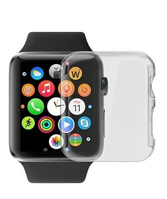 Ultra Thin Crystal Clear Transparent Screen Protector Cover for 38mm Apple Watch