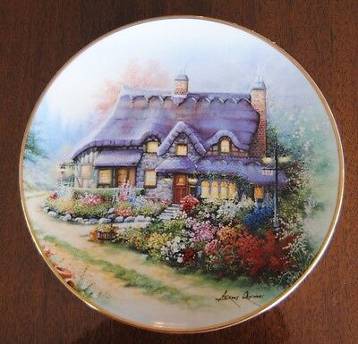The Cottage On Lilac Bend Franklin Mint Collector Plate