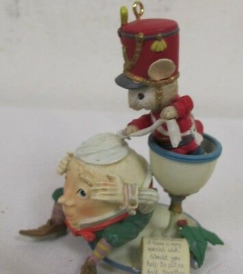Enesco Humpty Dumpty Nursery Rhyme Christmas Ornament 1992