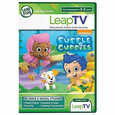 LeapFrog LeapTV Game Nickelodeon Bubble Guppies 3-5 years