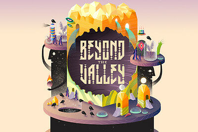 1x Beyond The Valley 2016 4-day Ticket