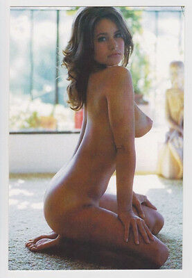 Postcard Risque Pinup Nude Sexy Girl Topless Breast Bare Butt Post Card #3582