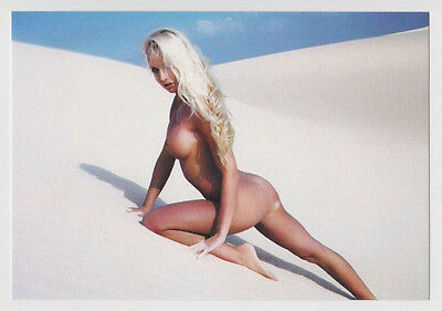 Postcard Nude Sexy Girl Bare Butt Topless Breast Babe Stunning Post Card #4458