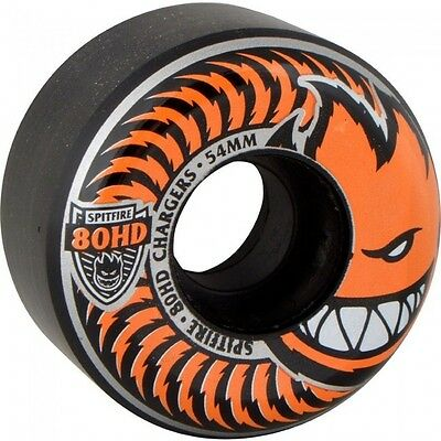 SPITFIRE CHARGER CONICAL BLACK 58mm SKATEBOARD WHEELS FREE DELIVERY AUSTRALIA