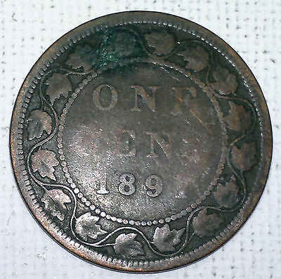 1891? Canada large Cent coin