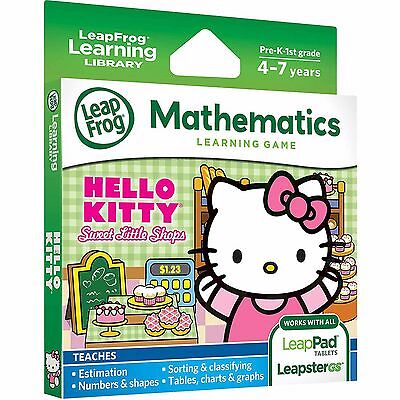 LeapFrog LeapPad 3 Ultra Platinum Game Hello Kitty Sweet Little Shops LeapsterGS
