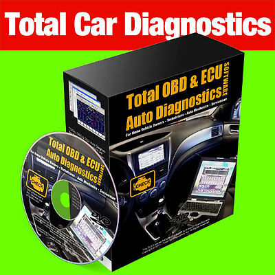 Total OBD Car Diagnostic Software Package ECU REMAPPING Chip Tuning Engine Check