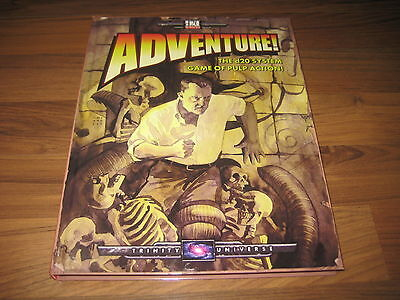 d20 Adventure! Part One of the Trinity Universe Game Trilogy HC WW16705