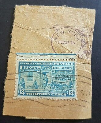 USA 13 cent special delivery stamp