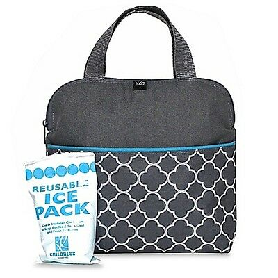 NEW MaxiCOOL™ Insulated 4 Bottle Cooler Baby Travel Bag Tote #`JL1905GY-CL