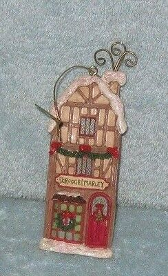 Scrooge & Marley Place Of Business  Christmas Tree Ornament