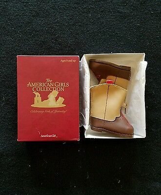 American Girl Molly's Embroidered Boots NIB