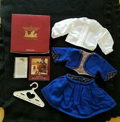 American Girl Addy's School Suit & Blouse NIB