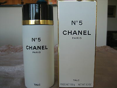 CHANEL NO. 5 PARIS TALC BOXED 150g MADE IN FRANCE