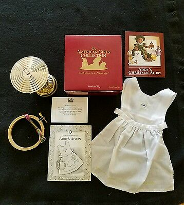 American Girl Addy's Needlework Kit & Lamp NIB