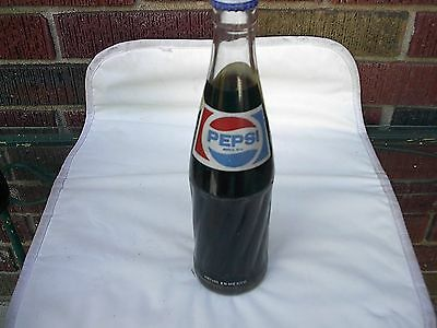 PEPSI COLA  very nice full never opened  MEXICO 11.7 oz Soda Bottle